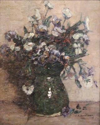 Boeket witte bloemen